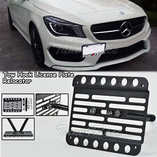 For 14-Up Benz AMG & Sport Package Front Tow Hook License Plate Bracket CLA45