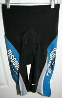 Womens Nike Discovery Channel AMD Team Cycling Padded Compression Shorts Large