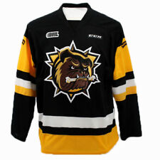 Hamilton Bulldogs OHL Premier Edge Away Jersey Large Black