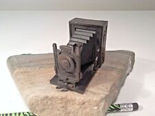 New listing Die Cast Bronze Tone Metal Bellows Camera Pencil Sharpener-Photography