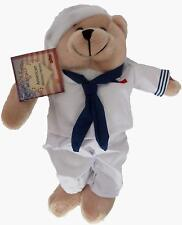 Chantilly Lace American Military Hero Navy Plush Bear Sings Anchors Away New