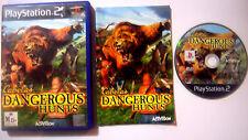 Cabela's Dangerous Hunts (Sony PlayStation 2, 2004) PS2 Game Hunter Shooter PAL