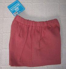 """Vintage Girls Stretch Shorts - Age 10-11? -34"""" Hips - Red/White -Bri-Nylon -New"""