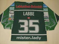 Shirt Trikot Ice Hockey Ice Ice Tigers Nurnberg Labbe 35 Size M