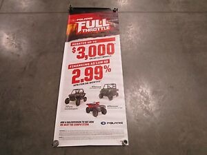16 Polaris Ranger XP 900 RZR 1000 EPS Sportsman XP 1000 Dealer Exclusive Banner