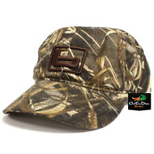 "NEW BANDED GEAR OILED HUNTING CAP HAT MAX-5 CAMO W/ ""b"" LOGO ADJUSTABLE"