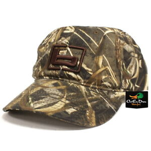 """NEW BANDED GEAR OILED HUNTING CAP HAT MAX-5 CAMO W/ """"b"""" LOGO ADJUSTABLE"""