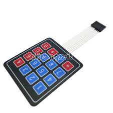 2PCS 4 x 4 Matrix Array 16 Key Membrane Switch Keypad Keyboard for Arduino