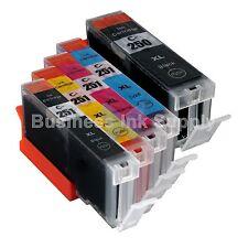5+PK CLI-251XL Ink Tank for Canon Printer PIXMA MG5520 MG7120 iP7220 CLI251XL