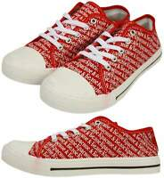 Mens Trainers Plimsolls Ladies Kids New Canvas Holiday Beach Summer Ex Store