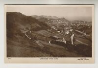 Devon postcard - Ilfracombe from Cairn - RP - P/U 1921 (A2862)