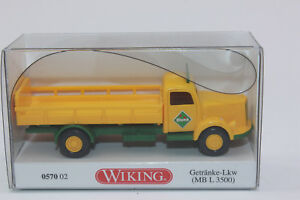 WIKING 057002 Beverages Truck Mercedes L 3500 Bluna 1:87 H0 New IN Boxed