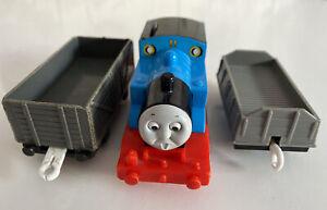 Tomy Trackmaster Thomas The Tank Engine Battery Train Surprsed Face Thomas
