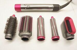 Dyson HS01 Airwrap Hair Styler - Nickel/Fuschia (IL/RT6-14532-HS01-MP-FUS-UA)