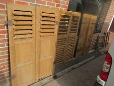 Alte gebrauchte abgelaugte Fensterläden  Klappläden zur Auswahl Model und Größe