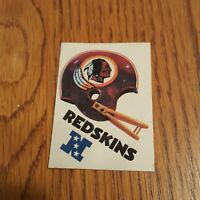 KELLOGG'S TOUCHDOWN GAME 20 YARD GAIN OFFICIAL GAME NFL 1983 Washington Redskins