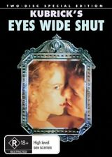 Eyes Wide Shut-SPECIAL EDITION- (2-Disc Set)-DVDS LIKE NEW R4 FREE POST AUS RARE