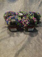NEW 5 Tahki green blue and pink yarn