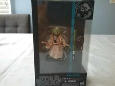 New! Star Wars Black Series #06 Yoda Figure - Sealed