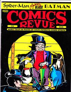"Comics Revue No 52-1990-Strip Reprints- ""Penguin Line-Up Cover!  """
