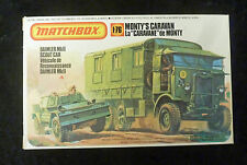 Matchbox WW2 Monty's Caravan & Daimler Scout Car Model Kit 1/76 Scale