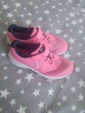 Girls Pink Nike Trainer's Size 1 Star Runner