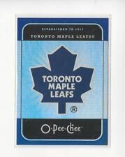 2007-08 O-Pee-Chee Team Checklists #CL28 Toronto Maple Leafs