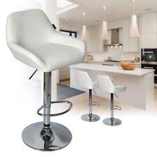 New listing Set Of 2 Bar Stools Adjustable Swivel Pu Leather Seat Hydraulic Pub Chair Bistro