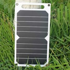 Hovall 6 Watt Portable Solar Charger with USB Port for Cell Phone, Mobile, Torch