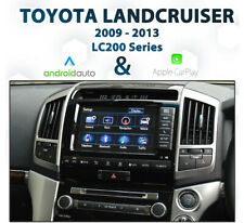 Toyota Landcruiser LC200 - 2009 to 2013 Android Auto & Apple CarPlay Integration