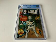 WHERE CREATURES ROAM 2 CGC 9.4 MONSTER BALD MOUNTAIN HORROR MARVEL COMICS 1970