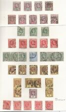 GOLD COAST EVII TO GVI COLLECTION MAINLY FINE USED ON 6 ALBUM PAGES GOOD VALUE