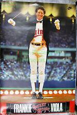 """Vintage Original Frankie """"Sweet Music"""" Viola Minnesota Twins MLB NIKE Poster!!!"""