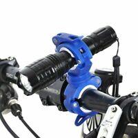 Bike Flashlight Holder Light Clip Mount Bracket Adjustable Bicycle Accessories