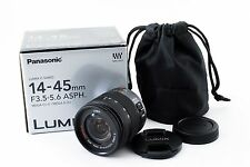 Panasonic Lumix G Vario 14-45mm f/3.5-5.6 Asph Mega O.I.S [Excellent+]from Japan