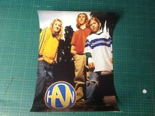 1 Cd LP Music HANSON Promo poster Vintage approx 17x11 brothers tour a z .