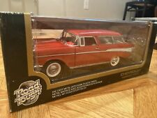 Road Tough 1957 Chevrolet Chevy Nomad Red NIB Diecast 1:18