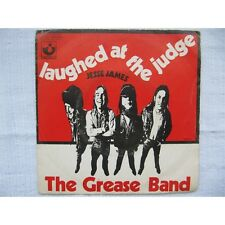 THE GREASE BAND - Laughed At The Judge / Jesse James French PS Psych 71
