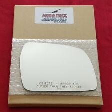 Mirror Glass + Adhesive For Chevy, Geo Tracker Passenger Side Replacement-Manual