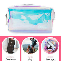 Hologram Laser Bag Holographic Makeup Bag Pencil Case Card Holder Wallet Handbag