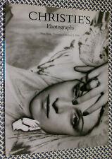 Christie's PHOTOGRAPHS Catalog, MAPPLETHORPE, MICHALS, Joel-Peter Witkin, AVEDON