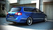 Heckansatz für VW Passat B6 R Line R36 3C Heck Ansatz Schürze Diffusor Avant Kom