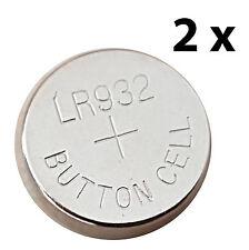 LR932 Knopfzelle 2 Stück Batterie f. Berner Opal- Handsender, LR 932, LR-932