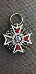 Romanian Crown Order Knight IMPERIAL RUSSIA ORDER SAINT ANNE MEDALLION ENAMEL