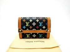 LOUIS VUITTON Wallet Monogram Multi Color Wallet Coin Monnaie Plat M92656 Purse