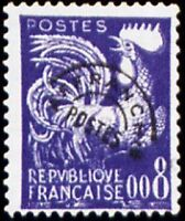 "FRANCE PREOBLITERE TIMBRE STAMP N°119 ""TYPE COQ GAULOIS 8c "" NEUF x TB"