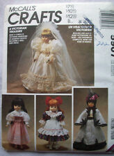 "Victorian wedding dress clothes for 13/14 - 16"" doll 5907 Cape skirt petticoat"