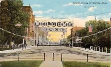 Montana Mt Great Falls Elks Convention Vintage Postcard.