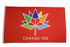 CANADA 150 YEAR ANNIVERSARY 1867-2017 RED 3 X 5 FEET FLAG BANNER