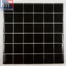 Mosaico de vidrio Negro DICE Azulejos F. Pool BAÑO COCINA 29 , 5x29, 5x0, 8cm
